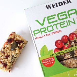barritas de cereal vegana