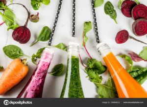 batidos de zanahoria vegano