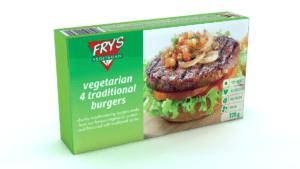 carne vegana para hamburguesas