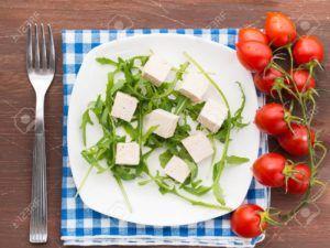 queso vegano de tofu