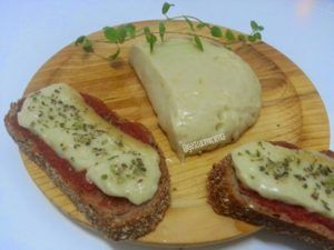 queso vegano para gratinar