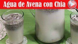 receta de leche de avena