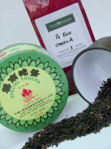 té rojo pu erh