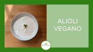 alioli vegano leche soja