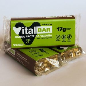 barra de proteína vegana
