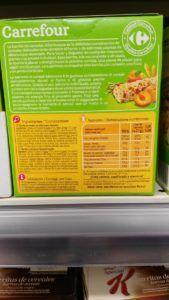 barritas cereales vegana
