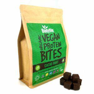 barritas de proteinas vegana