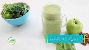 batido de proteina vegano