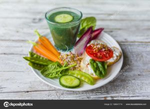 batido vegano desayuno