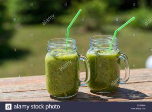 batido verde espinacas vegano