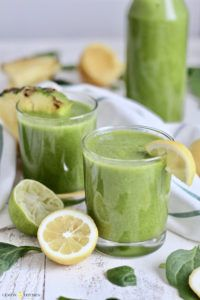 batido verde receta vegano
