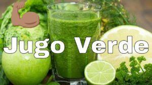 batido verde vegano