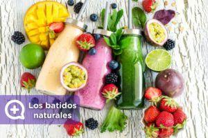 batidos de avena y frutas vegano