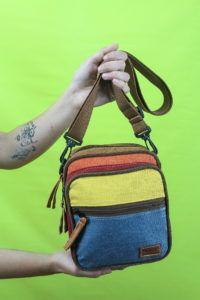 bolsas y mochila vegana