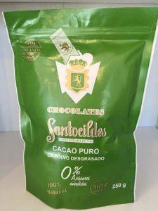 cacao en polvo puro
