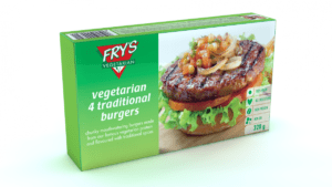 carne para hamburguesa vegana