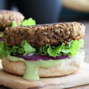 carne vegana de lentejas