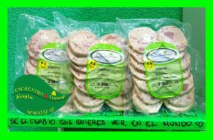chorizo lonchas vegano