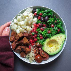comida vegana seitan