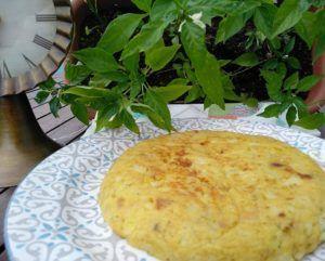 conservar tortilla de patatas vegana