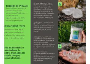 desodorante piedra natural vegano