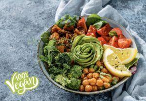 dietas sin carne vegana