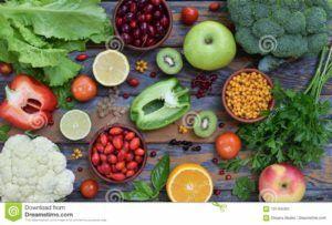 frutas con vitamina b
