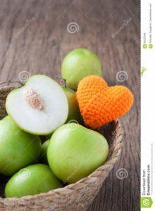 frutas fructosa tabla