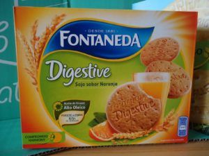 galletas digestive fontaneda veganas