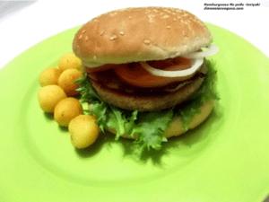 hamburguer vegano igual carne