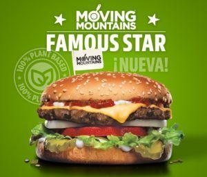 hamburguesa vegana sabor carne