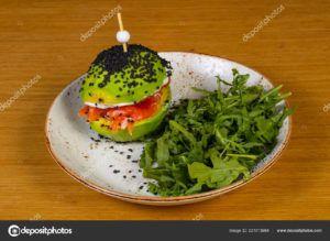 hamburguesas de pescado vegano