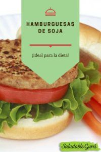 hamburguesas de soja veganas