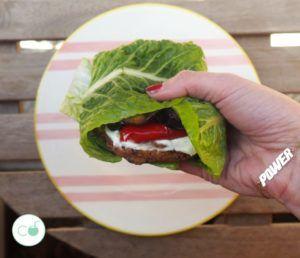 hamburguesas de tofu caseras veganas