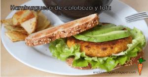 hamburguesas de tofu y avena veganas