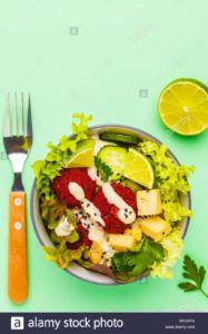 hamburguesas de tofu y verduras veganas