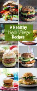 hamburguesas sanas veganas