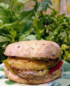 hamburguesas veganas de garbanzos