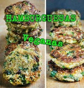 hamburguesas veganas de lentejas