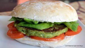 hamburguesas vegetales faciles veganas