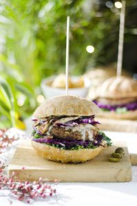 hamburguesas vegetales veganas