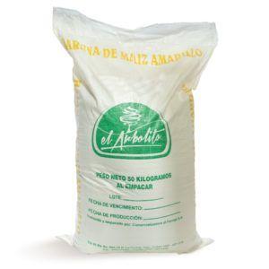 harina de maiz amarillo