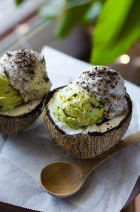 helado casero vegano