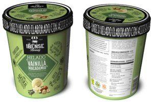helado de macadamia vegano