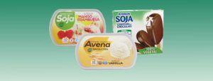 helado sin leche vegano