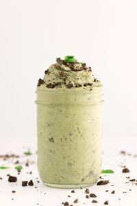 helado vegano de vainilla