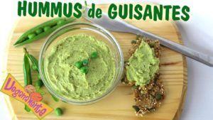 humus de garbanzo vegano