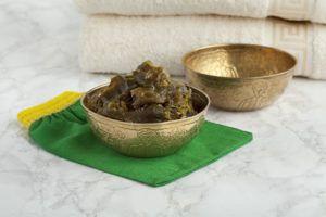 jabón purificante exfoliante con arcilla verde…
