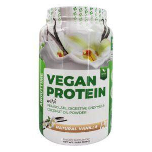 leche de soja en polvo vegana