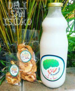 leche vegetal sin azucar